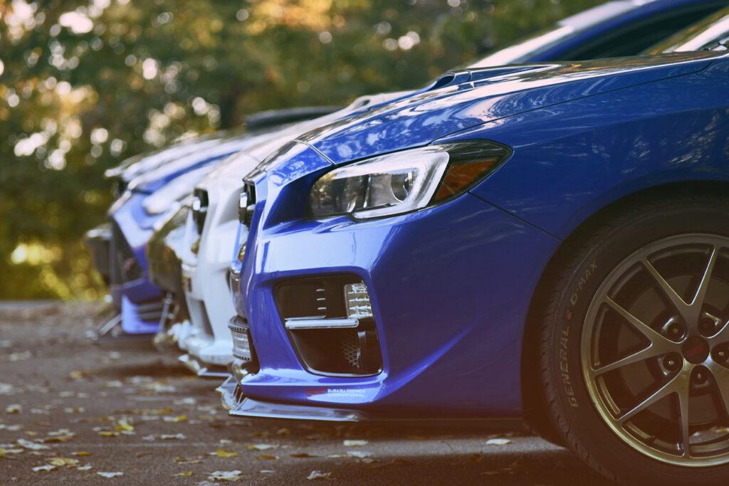 Car Line Closeup