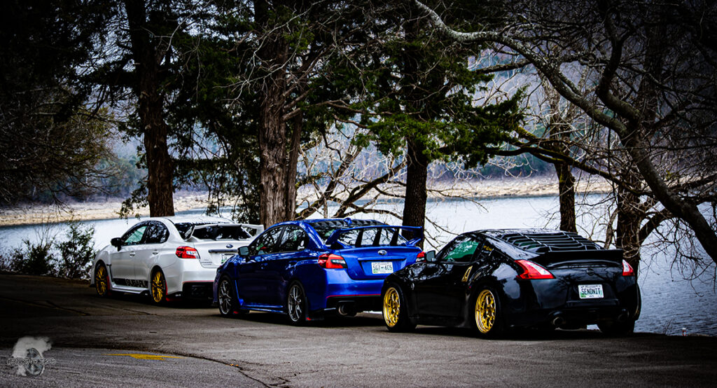 Imports Lined up