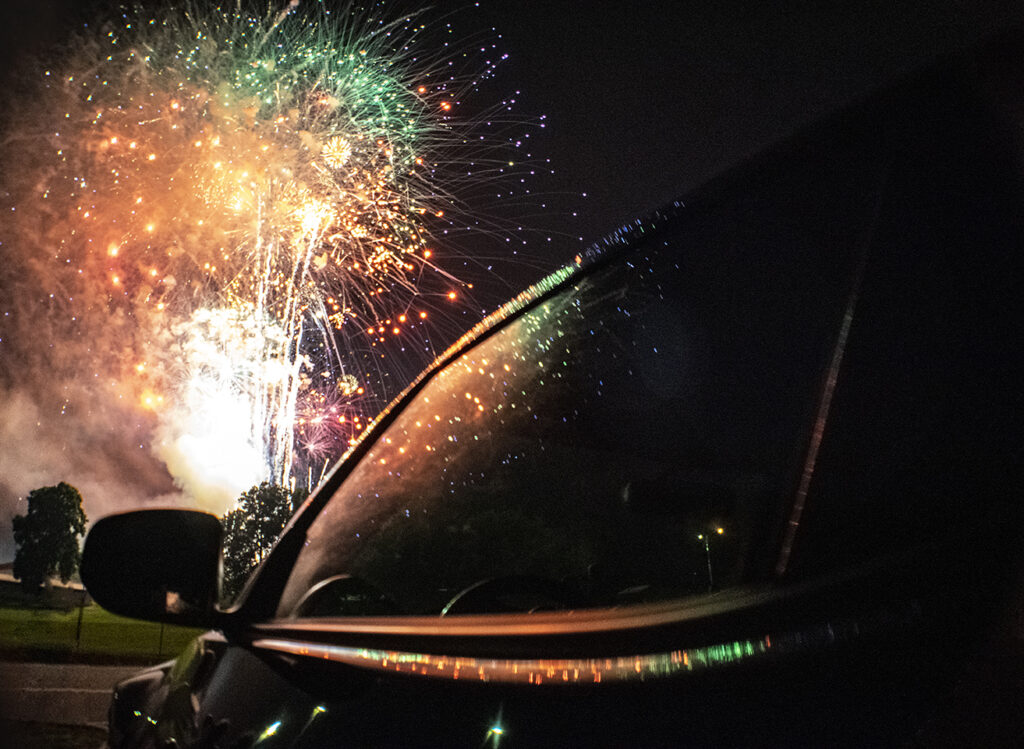 Nissan 370z July 4th Fireworks