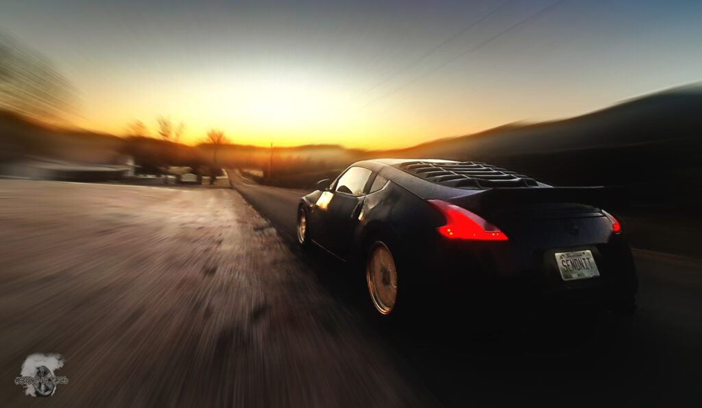 Rolling Shot of the 370Z